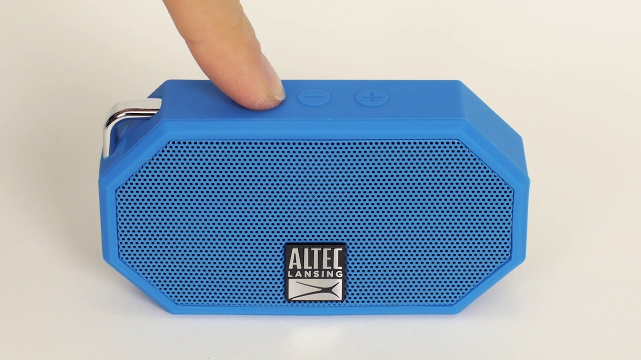 Using the IMW10 Mini H10O 10 Bluetooth Speaker