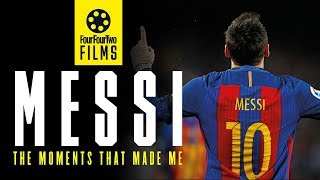 Lionel Messi documentary   The Moments that Made Me