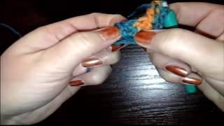 Как связать шаль крючком просто&Shawl. Simply. Crochet