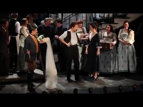 Quirijn de Lang as the Count in the Marriage of Figaro. Rehearsal snippets