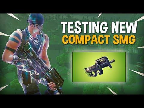Testing NEW Compact SMG P90 - Fortnite Battle Royale Gameplay - Ninja