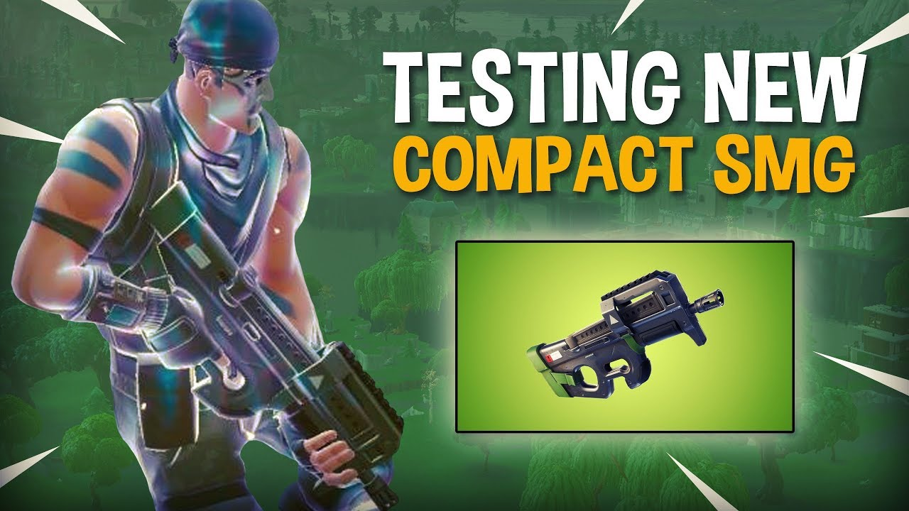 Testing NEW Compact SMG P90 - Fortnite Battle Royale Gameplay - Ninja