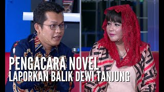 DIALOG-Dewi Tanjung Duga Teror Air Keras Novel Rekayasa, Pengacara: Ini Fitnah dan Hoaks!