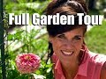 Full Summer Garden Tour with DRONE footage - July, 2017