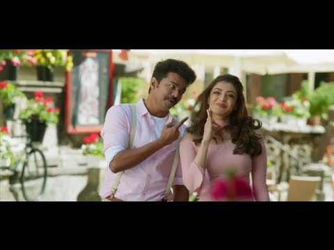 Macho Video Song Hd 1080p Mersal 4K Images Vijay/atlee/kajal/ar Rahman