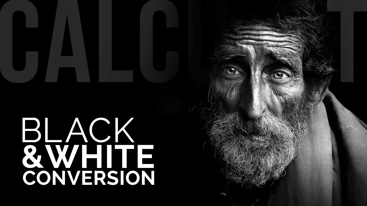 Make Kick Ass Black And White Conversions Using Calculations In Photoshop Youtube