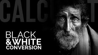 Make Kick-Ass Black and White Conversions Using Calculations in Photoshop