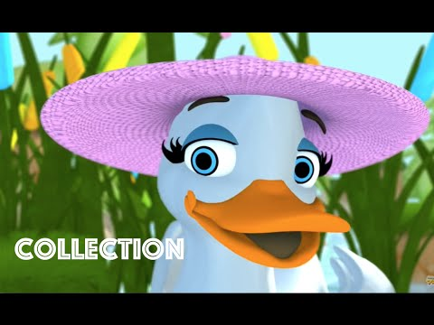 Five Little Ducks | Popular Nursery Rhymes Collection for Children | Nursery Rhymes for Kids