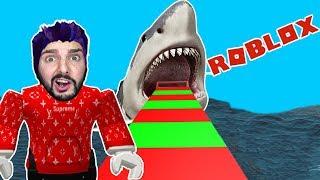 Roblox: VOR DEM WEIßEN HAI ENTKOMMEN! KAAN FLIEHT VOR DER GEFAHR! White Shark Obby Deutsch