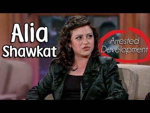 Alia Shawkat with Craig Ferguson!  Show