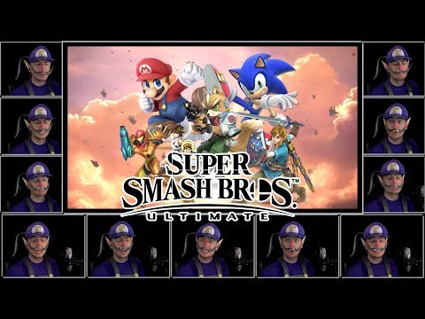 Lifelight (Acapella Cover) - Super Smash Bros. Ultimate Main Theme w/ Lyrics thumbnail