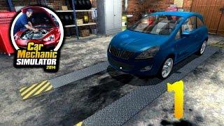 Car Mechanic Simulator 2014 Прохождение на русском #1 - Первый ремонт [FullHD|PC]