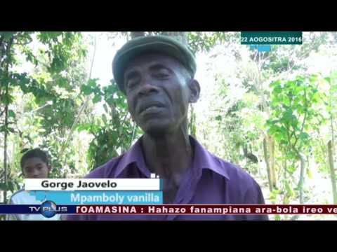 VAOVAOM PARITRA  22 AOGOSITRA 2016 BY TV PLUS MADAGASCAR