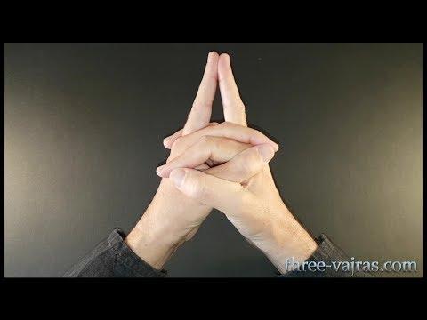 root-chakra-(muladhara)-mudra-variations:-tutorial- -three-vajras