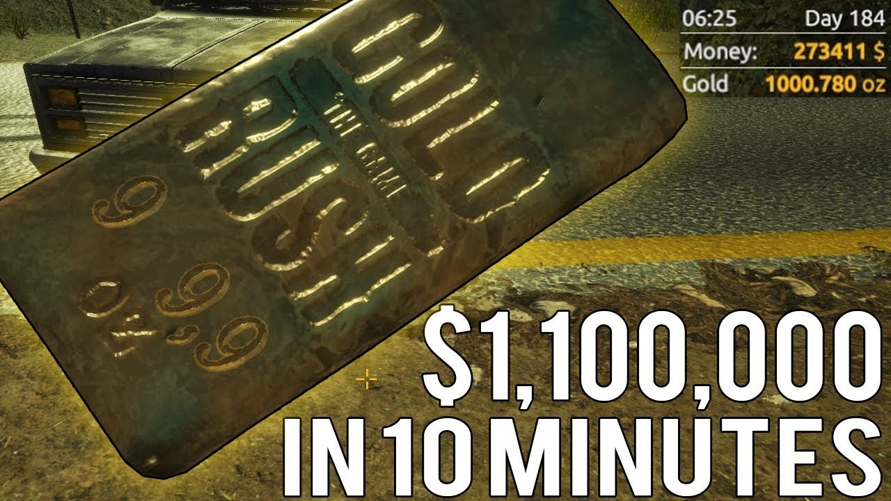 Huge 1000 Oz Gold Bar Worth 1 100 000 In Less Than 10 Minutes Rush The Tips Tricks