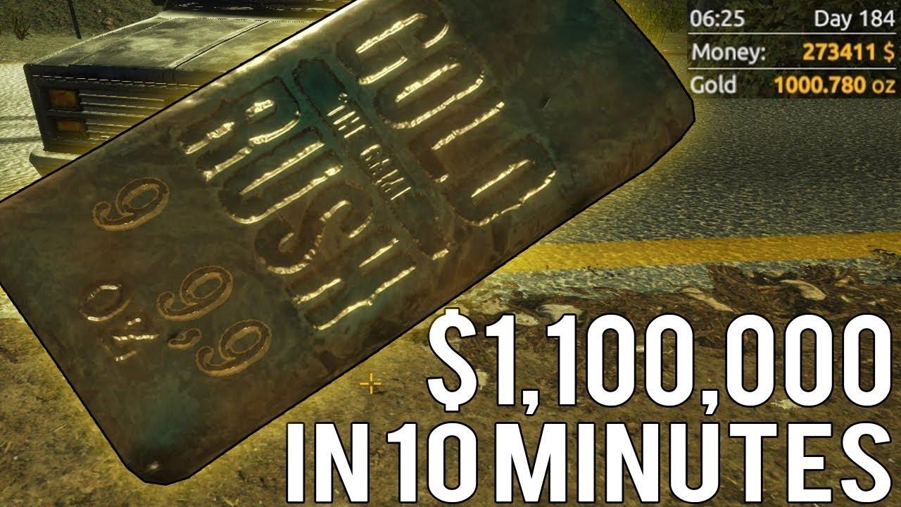 Huge 1000 Oz Gold Bar Worth 1 100 000
