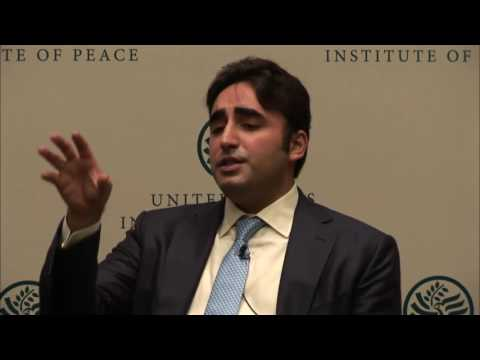 Bilawal Bhutto Question Answer Session at United States Institute of Peace
