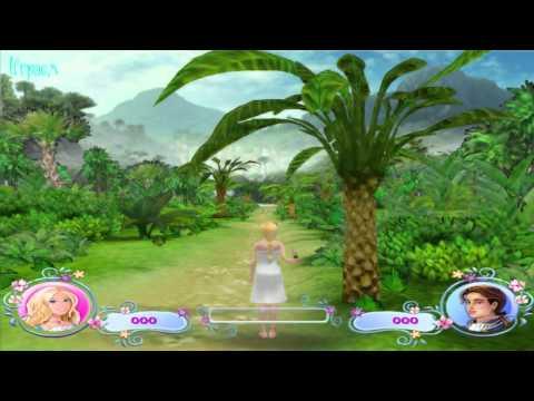 ♛ Барби в роли Принцессы острова Игра - (Barbie As The Island Princess - Game video)
