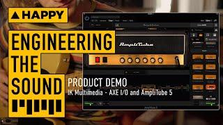 IK Multimedia AXE I/O and AmpliTube 5 bundle: Product Demo