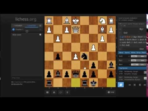 Scotch Game: Amazing King Walk of an International Master