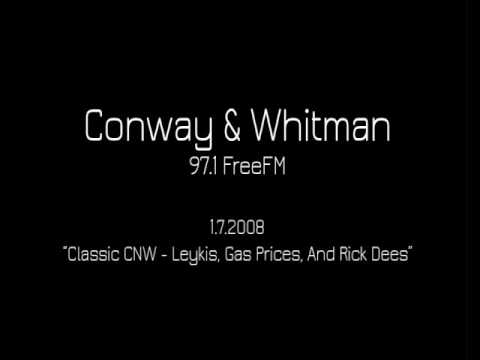 Conway & Whitman - Classic CNW - Leykis, Gas Prices, And Rick Dees [1.7.2008]