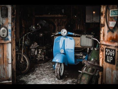 """Инвалидка """"Моргуновка"""" + 30 редких мотоциклов и машин в секретном гараже  коллекционера Сергея"""