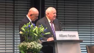 Михаил Горбачев в Берлине. 25 лет падения Берлинской стены.(Фрагмент выступления Михаила Горбачева на форуме
