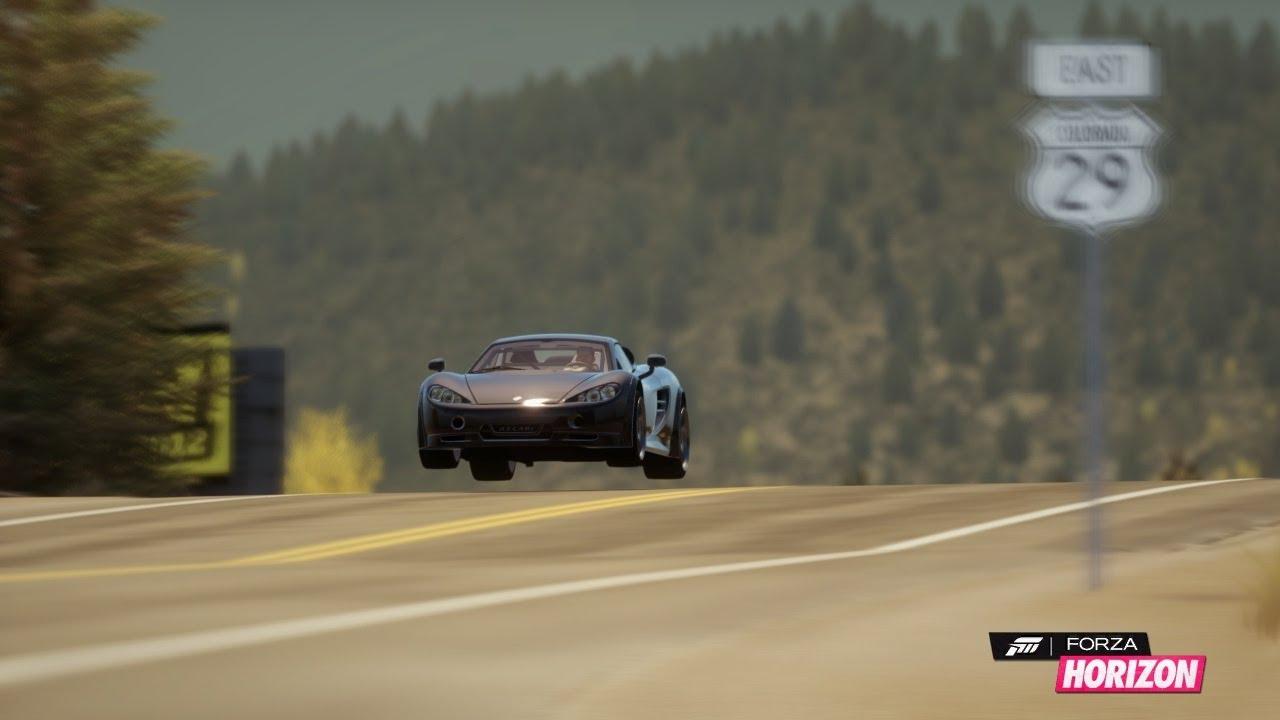 Forza Horizon Top Speed Run Ascari Kz1r 2012 Youtube