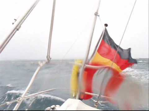 Storm Sailing in the Irish Sea