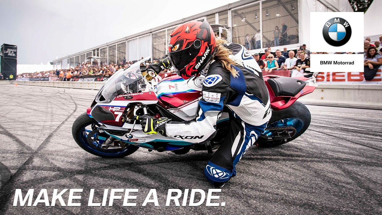 Bmw Motorrad Days 2019 Drift Show With Alex Le Marseillaise