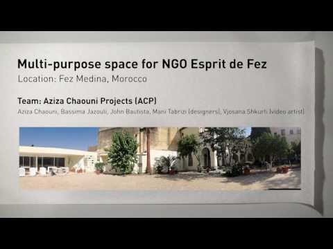 Aziza Chaouni Projects - Urban Trend: Public Space - YouTube