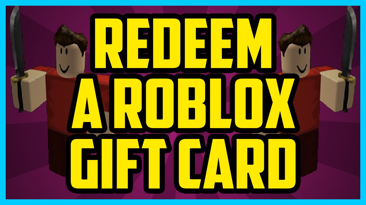 How To Redeem A Roblox Card 2017 (QUICK & EASY) How To Redeem Codes On  Roblox 2016