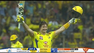 CSK vs SRH IPL Final Match Full Highlights | IPL 2018 CSK vs SRH Full Match Highlights | watson