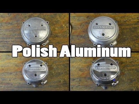 How-To: Polish Aluminum Motorcycle Parts