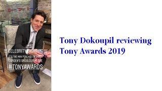Tony Dokoupil reviewing Tony Awards 2019