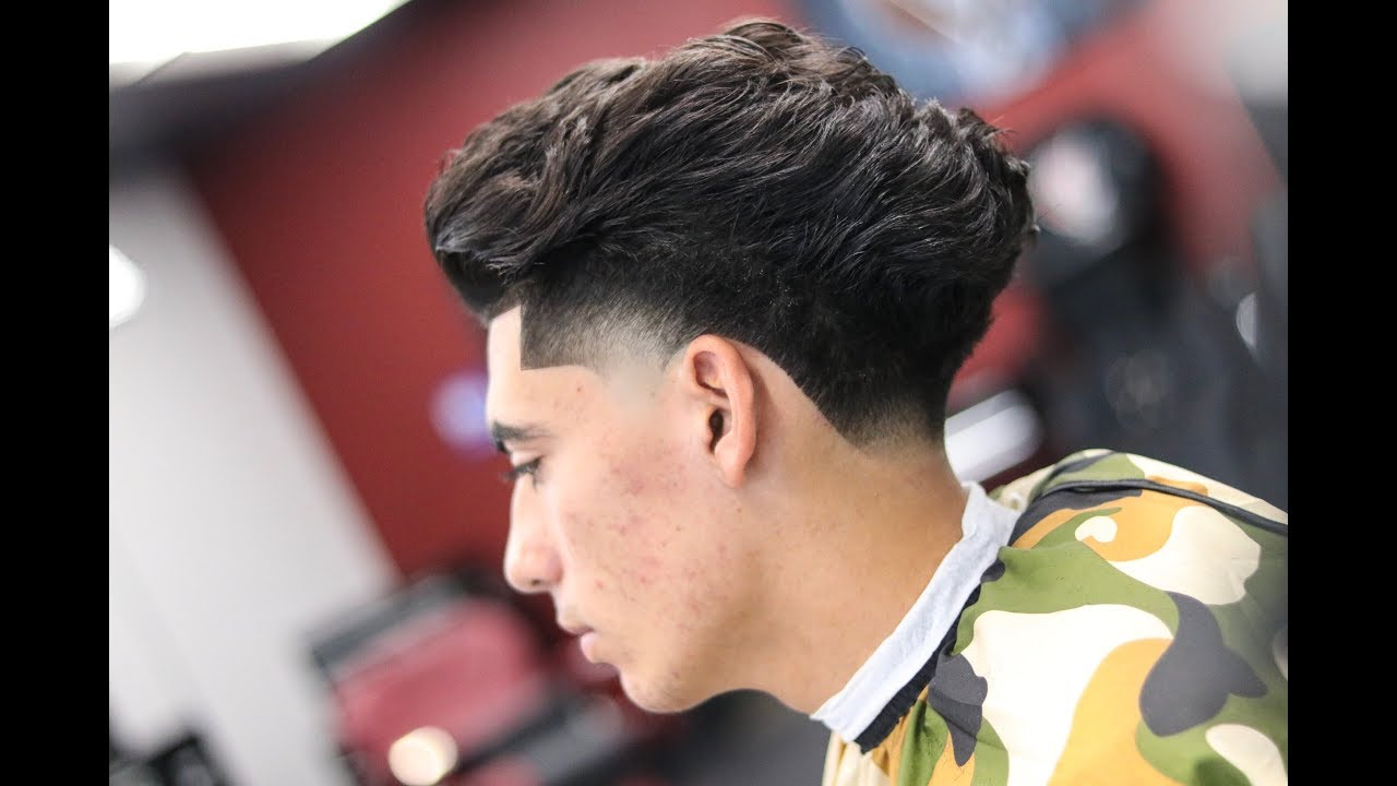 BARBER TUTORIAL PAULY D BLOW OUT TAPER