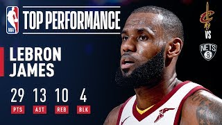 LeBron Notches First Triple-Double of the Season l October 25, 2017
