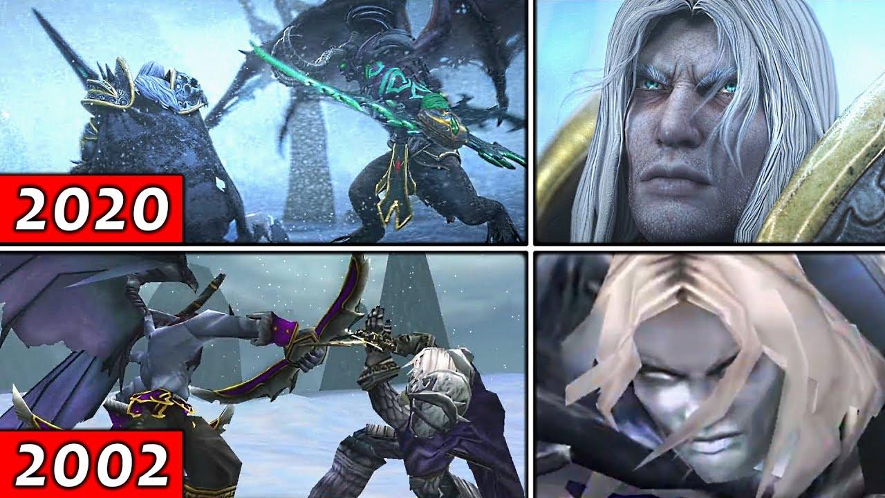 Arthas Beats Illidan Reforged Vs The Original Warcraft 3