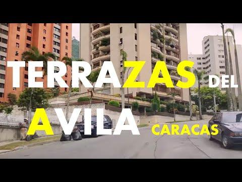 VAMOS A TERRAZAS DEL AVILA UN BARRIO De Montañas VERDES VISTAS PANORÁMICAS EN CARACAS VENEZUELA 2017