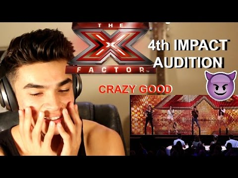 4th IMPACT Xfactor Audtion Reaction// CRAZIEST SISTER SINGING GROUP