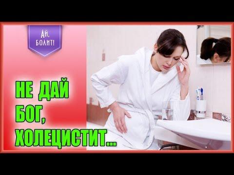 признаки холецистита симптомы где болит