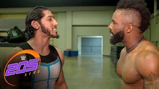 The tension between Mustafa Ali & Cedric Alexander escalates: WWE 205 Live Exclusive, Nov. 28, 2017
