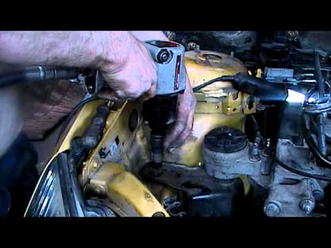 ford timing belt ford focus timing belt part 3.mpg - youtube