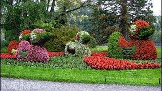 Остров цветов Майнау Bodensee