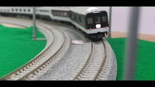 JR24系寢台特急走行,塗裝最有成就感的一集[4K鐵道模型]