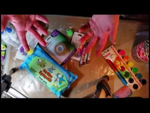 Dollar Tree Haul January 2015  Inexpensive Art & Craft Supplies