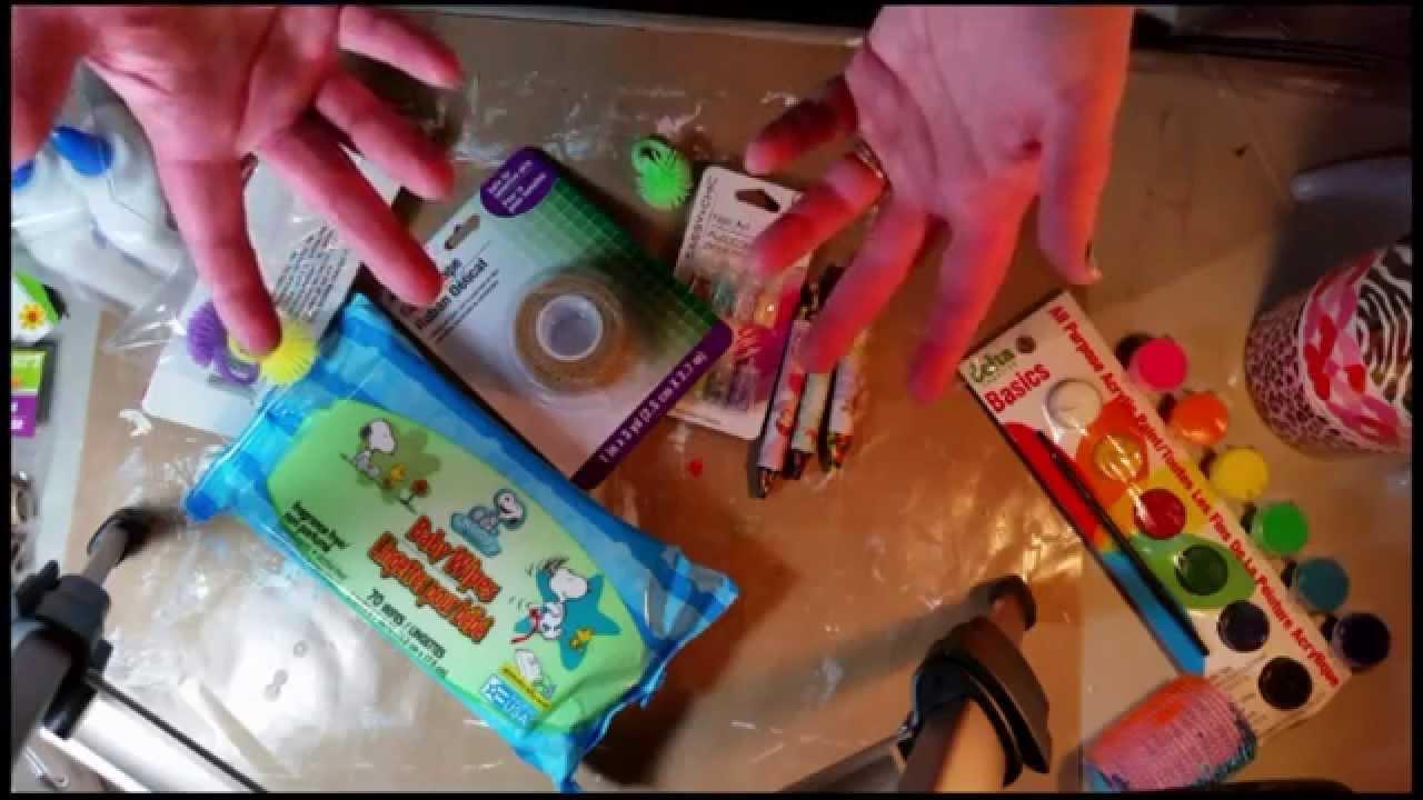 Dollar Tree Haul January 2015 Inexpensive Art Craft Supplies Youtube