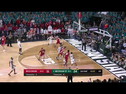 Nick Ward Follow-Up Score vs. Wisconsin