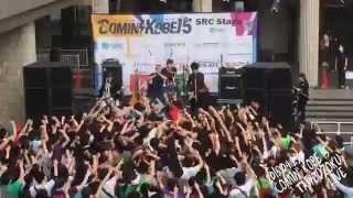 2015年4月29日 神戸にて行われたチャリティーフェス COMIN' KOBE 15の太...