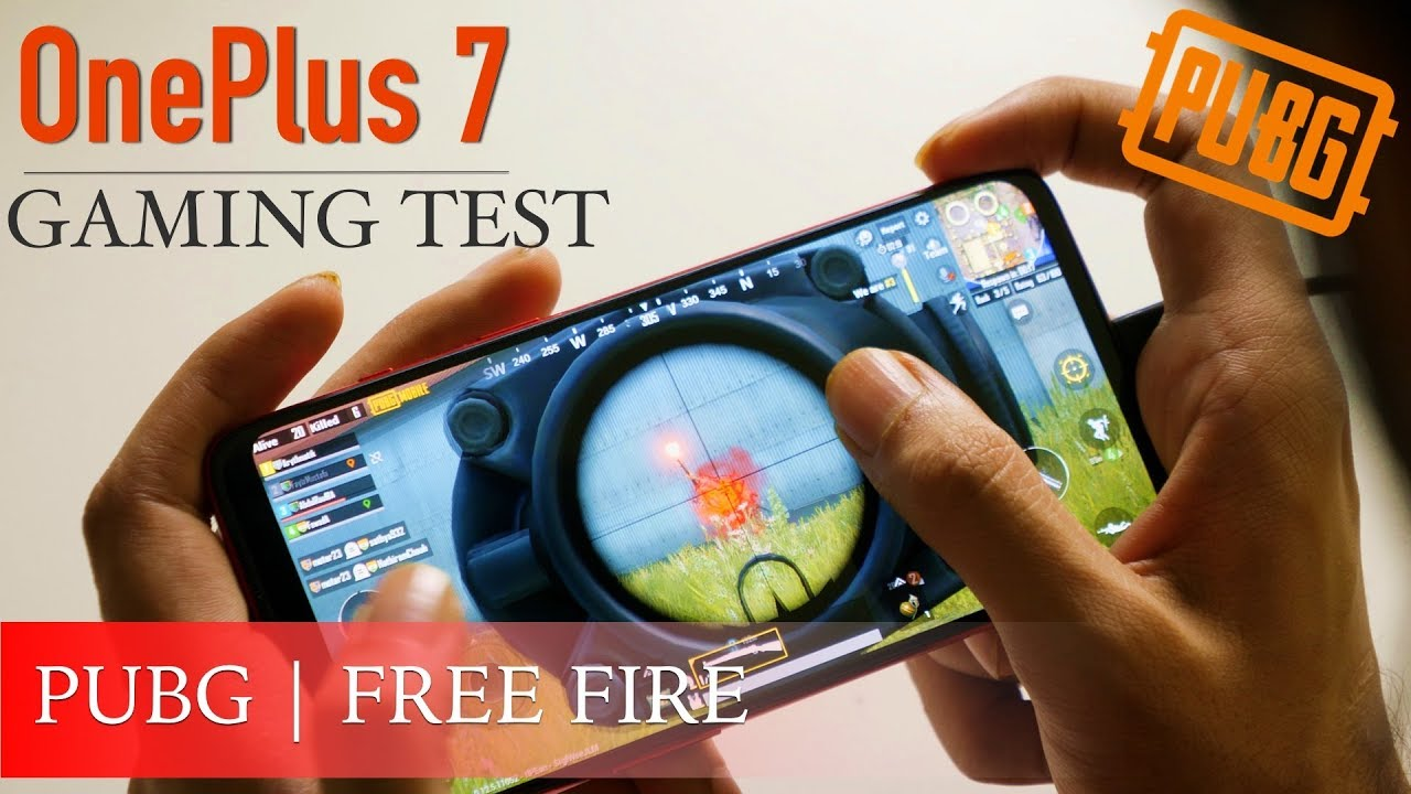 OnePlus 7 PUBG Test | Heating Test | Gaming Performance | Free Fire [Hindi]